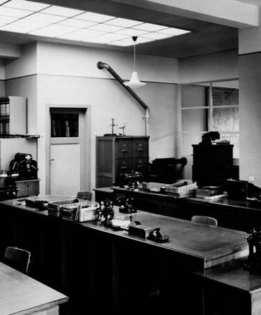 Historisches Büro in der Alten Bogefabrik